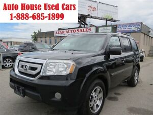 2011 Honda Pilot TOURING, NAV, DVD, AWD, Leather, sunroof, backu