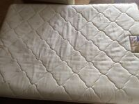 BED double divan from DREAMS with double mattress in good as new condition