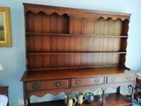 Large oak dresser for sale