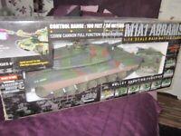 Abrams remote control tank