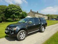 NO VAT!! 58 Plate. Mitsubishi L200. Raging Bull. Diesel. Automatic. Excellent condition throughout.