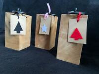Solid Cheshire oak door stops for Christmas gifts!