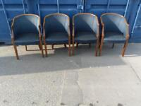 4 x high end executive reception chairs at £30 each or £100 for set