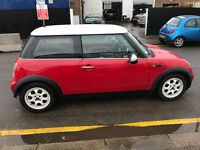 MINI ONE 51 REG A/C 15 ALLOYS SOME SEVICE HISTORY RED ANDD BLACK INTEROIR