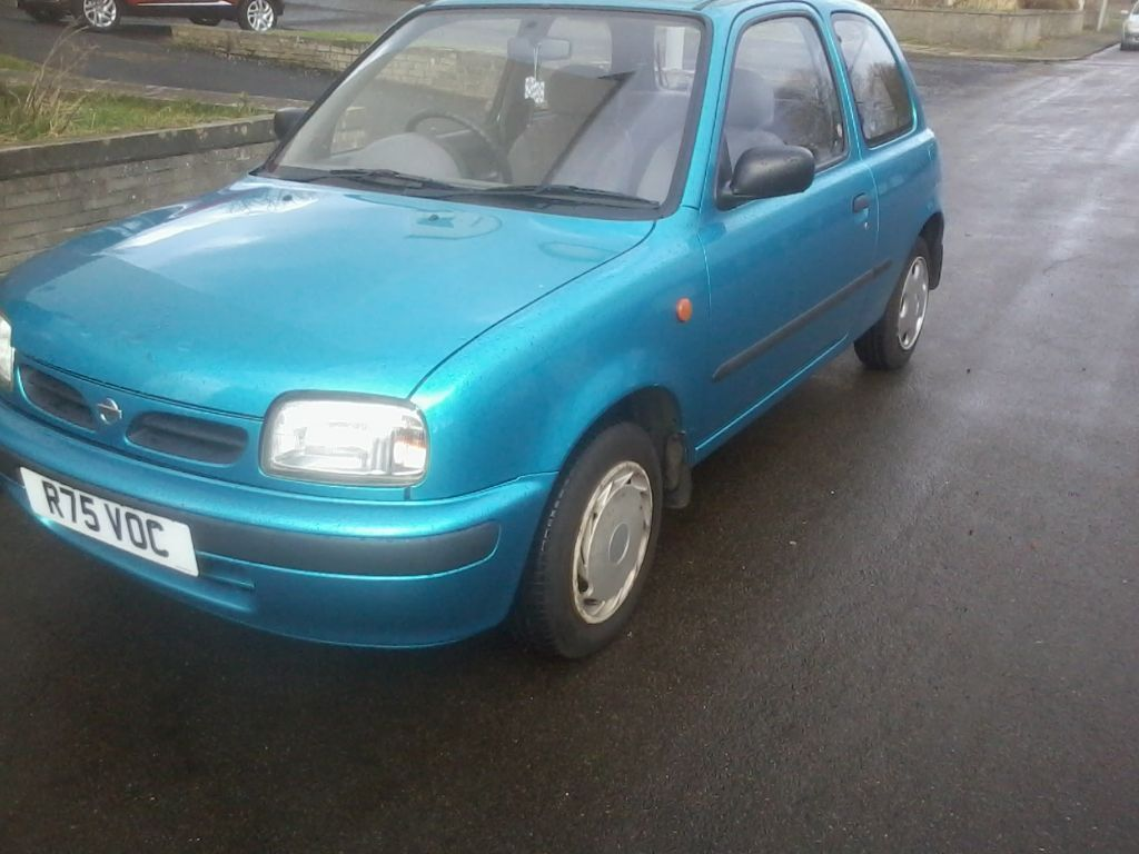 NISSAN MICRA MOT FULL YEAR TAX MAY 1998 R REG SOLID C | in Penilee ...