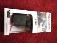 Rode Videomic with Rycote shock mount shotgun mic microphone boxed