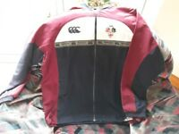 Canterbury of New Zealand men's jacket, Size M, CAI - in CAI colours - COLLECTION ONLY
