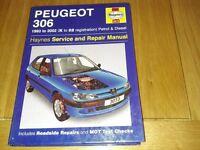 Haynes manual Peugeot 306
