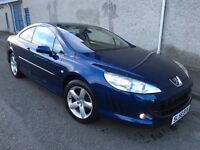 Stunning 2008 58 Peugeot 407 2.0Hdi 136 Sport Coupe **3 Owners+Full History+Full Heated Leather**