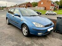 Ford Focus, 2002, Blue, AUTOMATIC, 1.6 Petrol, 106k Low Miles, Taxed and Mot