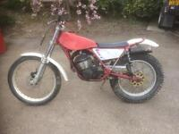 Fantic 125cc trials bike