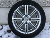 15INCH 4/108 FORD PEUGEOT FOX ALLOY WHEELS WITH TYRES FIT MOST MODELS