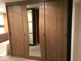 Ex display sliding wardrobe doors