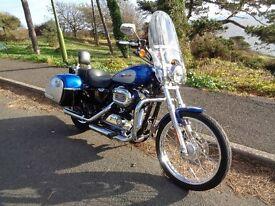 Harley Davidson XL 1200 C Custom Sport 2010 only 4500 miles