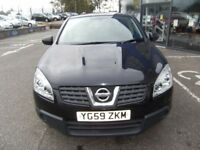 2009 59 NISSAN QASHQAI 1.6 VISIA 5D 113 BHP **** GUARANTEED FINANCE **** PART EX WELCOME ****