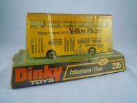 DINKY ATLANTEAN BUS 295 YELLOW PAGES LIVERY (1973)