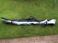 Skis, Poles and Carrier Bag