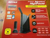 Buffalo AirStation Nfiniti 300 Mbps Wireless N Router (WZR-HP-G300NH)