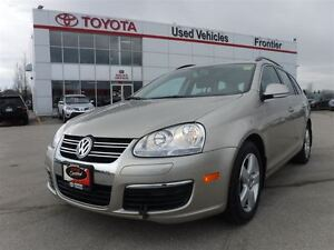 2009 Volkswagen Jetta 2.5L Highline\Leather Heated Seats\Sunroof