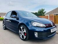 *2009* VOLKSWAGEN GOLF GTI MK6 5 DOOR MANUAL LEATHER MEDIA PLAYER 72,000 MILES + NEW MOT