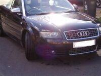 Audi S4 cabriolet, Four wheel drive, Excellent condition.