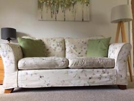 M&S sofa with removable covers