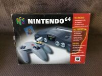 Boxed Nintendo 64 Console with Games