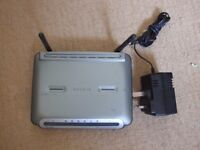 Belkin Wireless G Plus MIMO Router (F5D9230-4) Inc power supply + filter