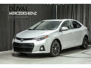 2015 Toyota Corolla S / CAMERA RECUL TOIT OUVRANT BLUETOOTH
