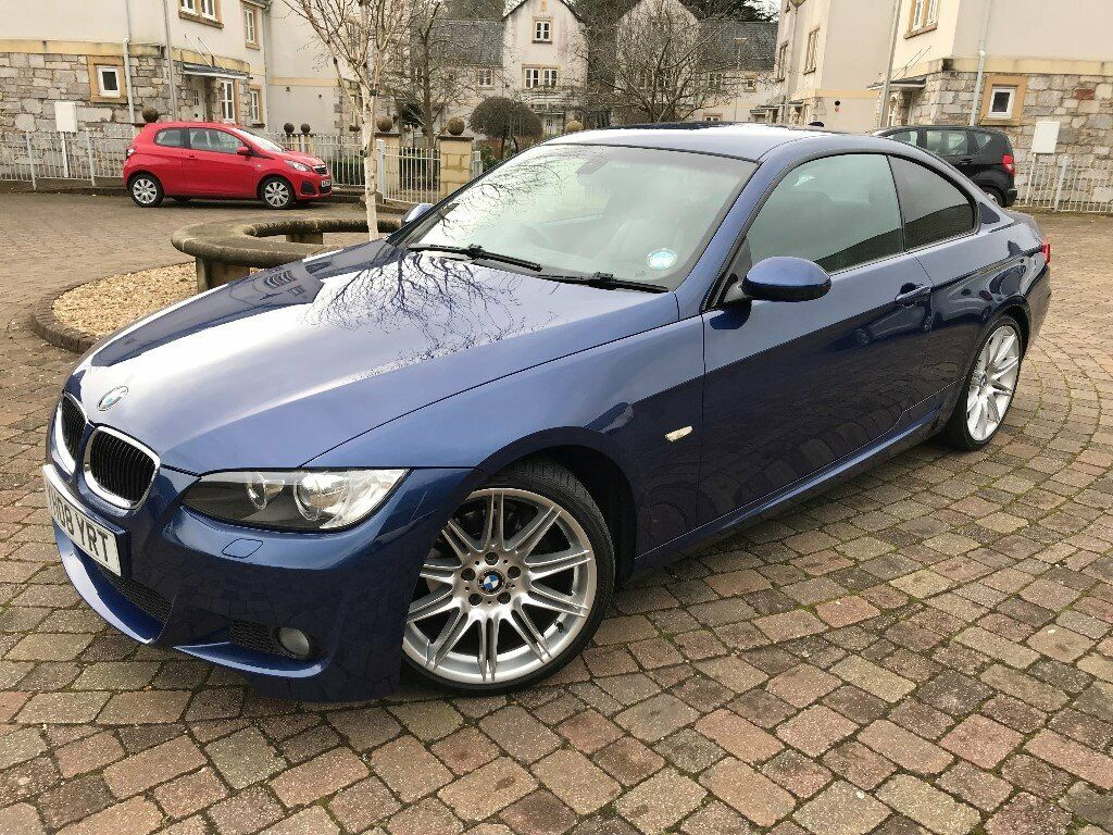2008 BMW 320D M SPORT COUPE 6 SPEED FSH TOP CONDITION LOW MILES