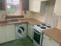 Two bed, unfurnished, terraced house with private garden off Leith Walk, available now