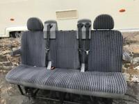Transit tourneo seats with seat belts