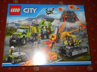 New Lego set 60124 City Volcano exploration base
