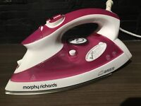 Morphy Richards Iron (Pink) - Great Condition