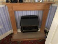 Solid Wood Fireplace Surround and Base/Heath Fire Place HIGHT QUALITY