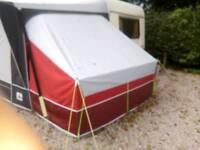 Sloping annex inner tent