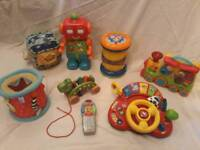 Selection of toys for 6-18 months (Vtech, Fisher price & ELC)