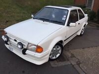 FORD ESCORT RS TURBO SERIES 1 1985 C REG GENUINE RS TURBO CUSTOM RARE CLASSIC