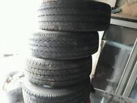 Renault master tyres wheels