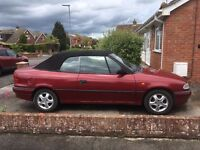 Vauxhall Astra Convertible 1.6 Bertone for spares/repairs