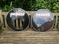 "Drums - 22"" Bass Drum Heads x 3 - Premier"
