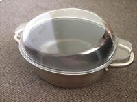 IKEA casserole pan with glass lid