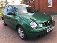 2002 Volkswagen polo s 75bhp 1.4 Petrol 5 speed full service history