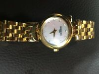 Raymond Weil Geneve Ladies 18ct Gold watch and bracelet