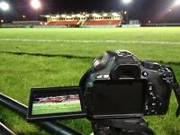 Volunteer Videographer / Video Camera Operator Required - Football