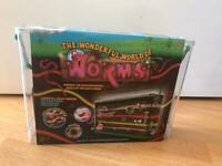 Worms children gardening kit toys brand new garden