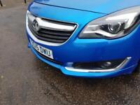 VAUXHALL INSIGNIA 2.0 SRI NAV CDTI 5d AUTO 160 BHP (blue) 2015