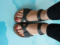 Birkenstock sandals (well worn) - £ 35
