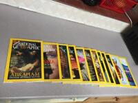 All 12 national geographic magazines from 2001