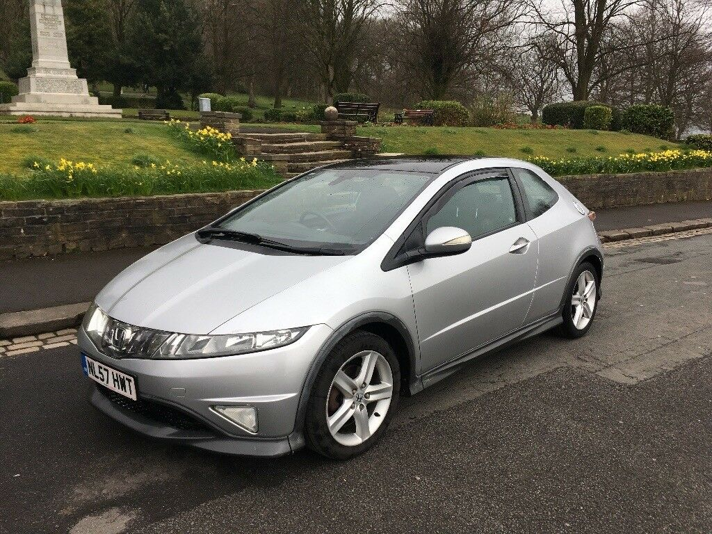 2007 honda civic type s gt cdti in great harwood. Black Bedroom Furniture Sets. Home Design Ideas